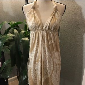 Mara Hoffman Silk Halter Dress